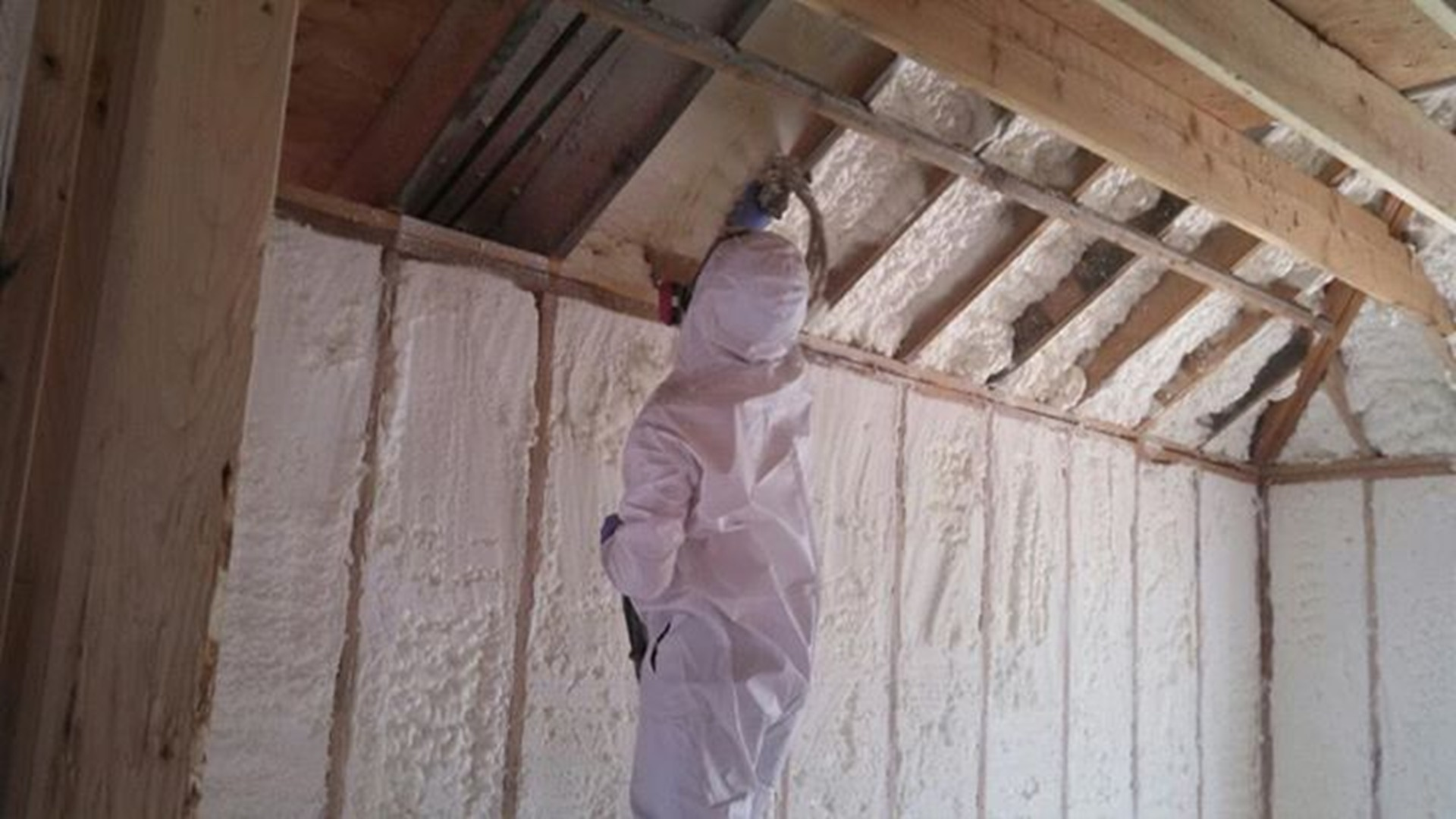 Spray foam insulation cost price per square foot new for New home insulation